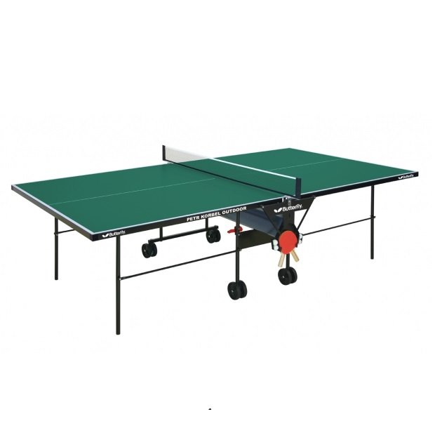 Table Tennis Table Butterfly Petr Korbel Outdoor   Green