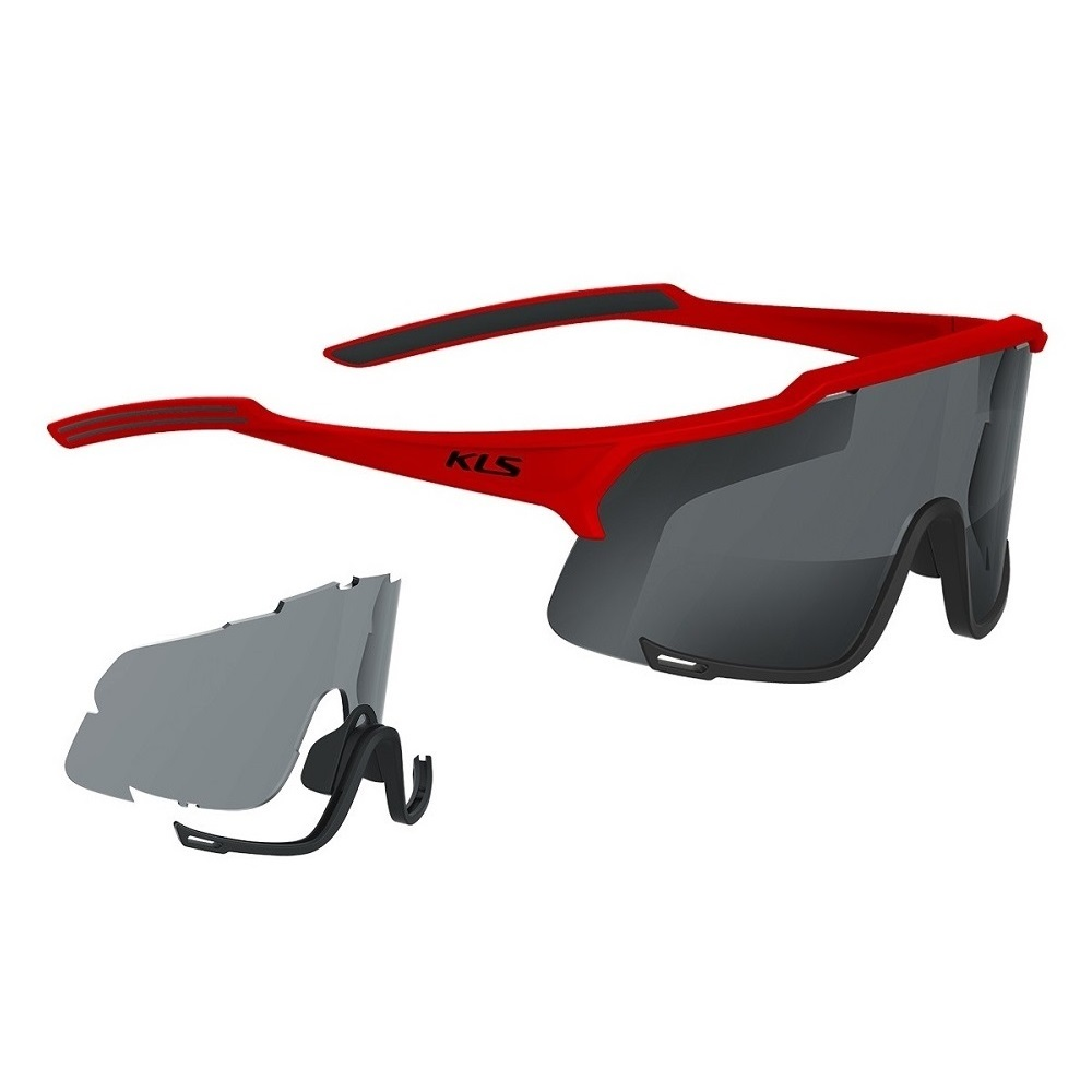 56e4d213624 Cycling Sunglasses Kellys Dice Photochromic - Red - inSPORTline