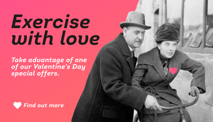 Exercise with Love and Save Up To 50 €